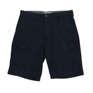BILLABONG Men's Navy Blue Casual Shorts 34